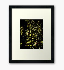 Urban Hatches NYC  Framed Print