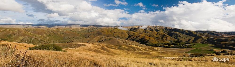 The Dunstan Range by dlscape