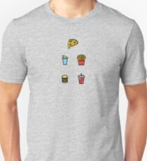 Baesic Fast Food Pack Unisex T-Shirt