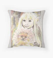 Kira and Fizzgig - The Dark Crystal Throw Pillow