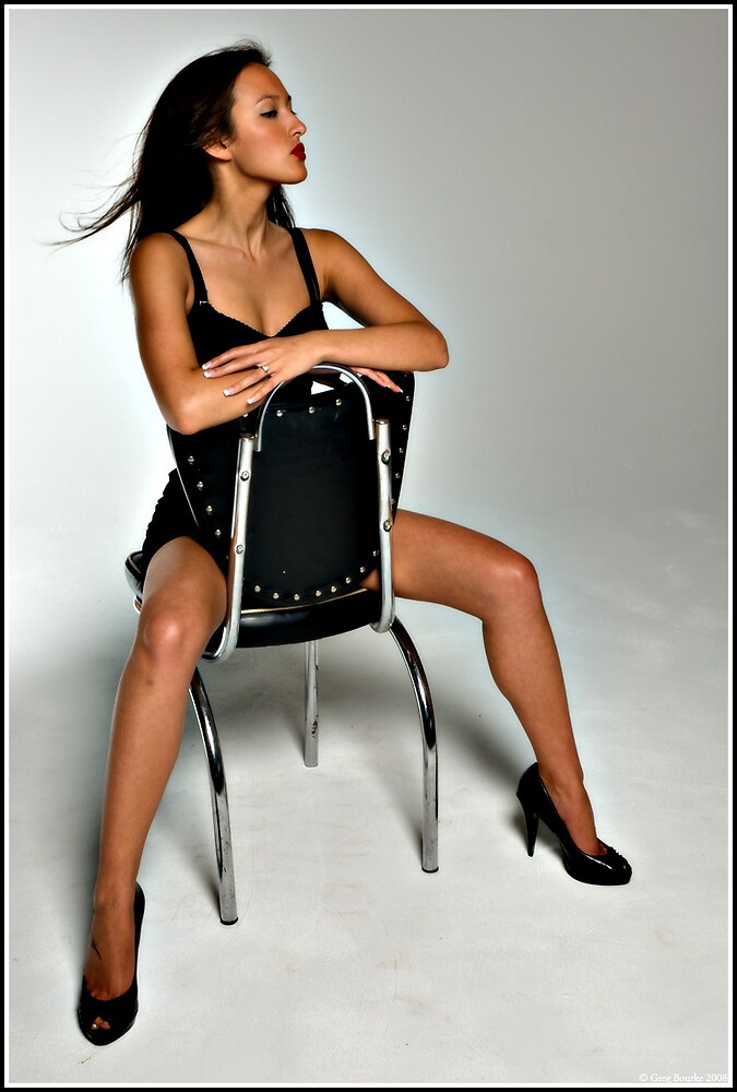 Model and chair by GregB