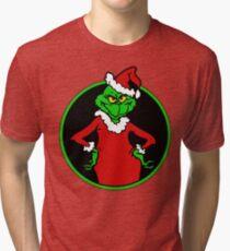 The Grinch  Tri-blend T-Shirt