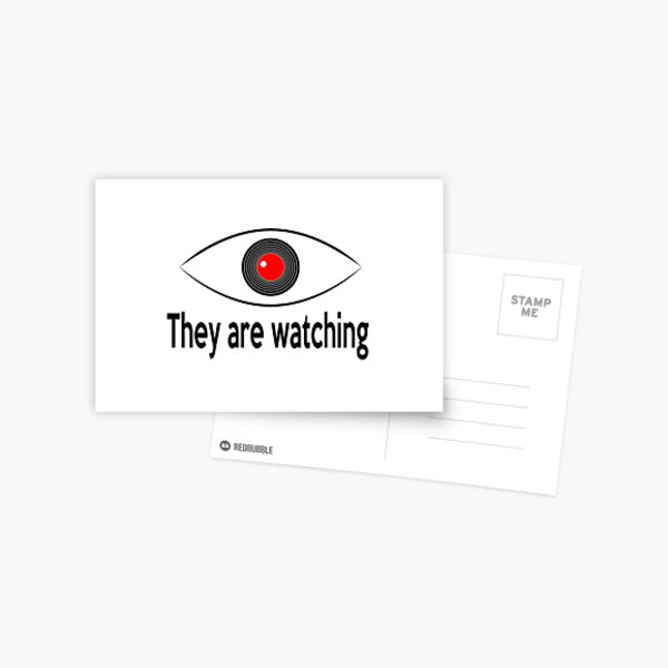 They are watching Postcard