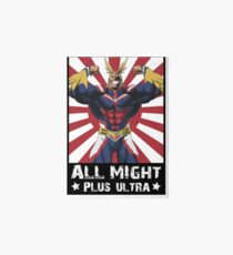 ALL MIGHT! PLUS ULTRA! Art Board