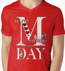 Happy Mothers Day Men's V-Neck T-Shirt