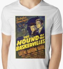 Sherlock Holmes Hound of the Baskervilles movie poster T-Shirt