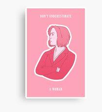 Feminist Dana Scully Canvas Print