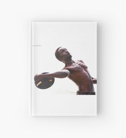 The disc launcher Hardcover Journal