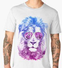 Tackle The Gazzle Says Mr. Lion Men's Premium T-Shirt
