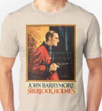 Sherlock Holmes movie-poster 1922 Unisex T-Shirt