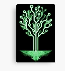 Tree of Technological Knowledge Canvas Print