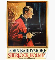 Sherlock Holmes movie-poster 1922 Poster
