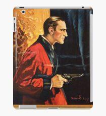 Sherlock Holmes movie-poster 1922 iPad Case/Skin
