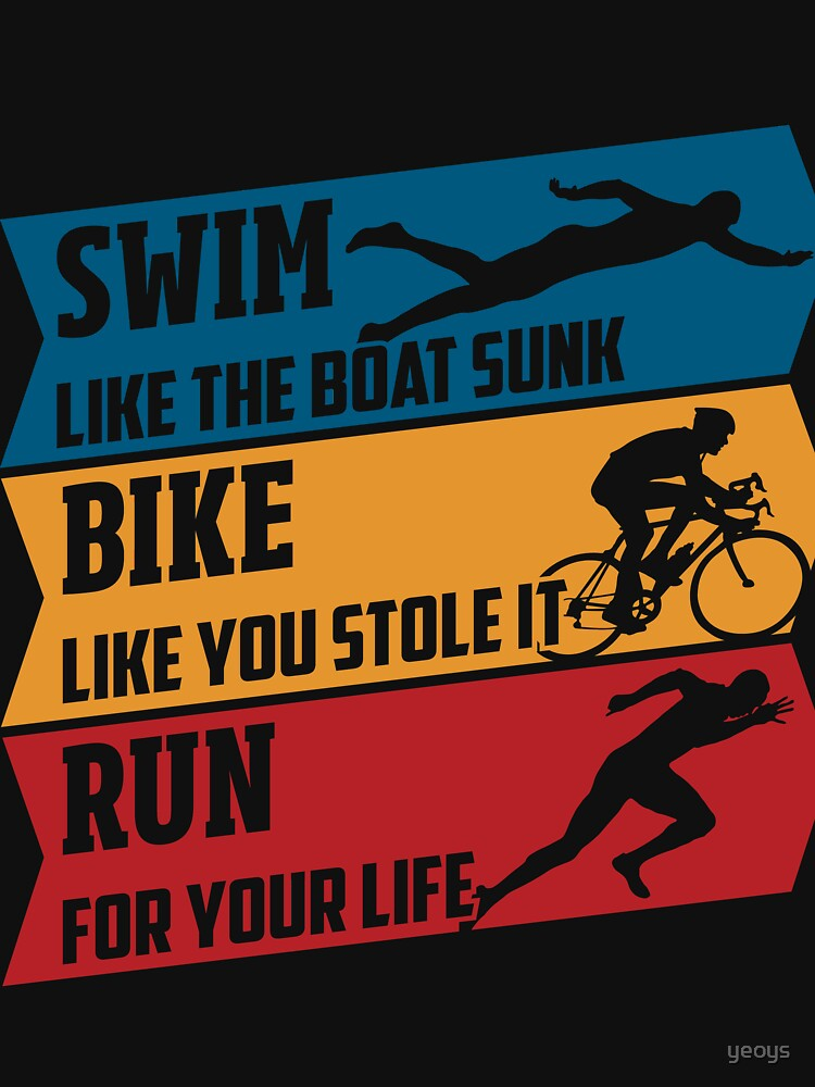 Swim - Run - Bike by yeoys