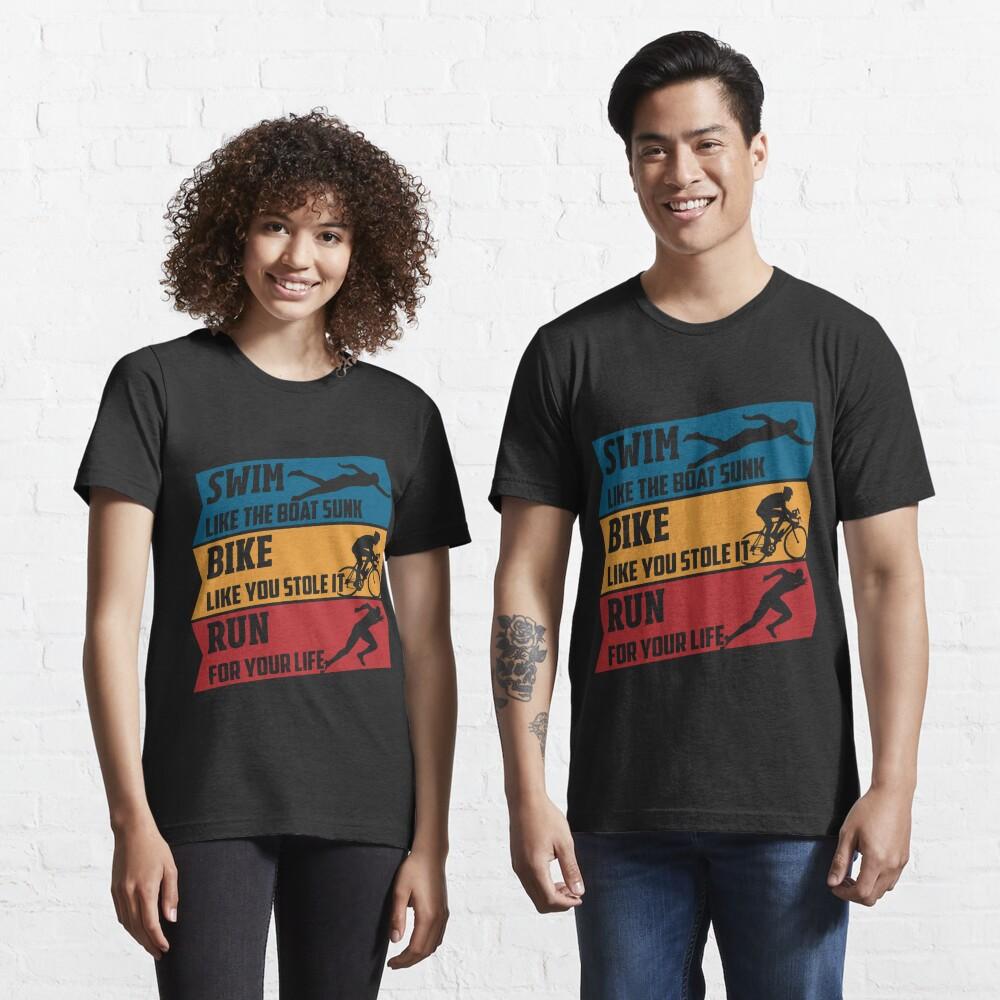 Swim - Run - Bike Essential T-Shirt