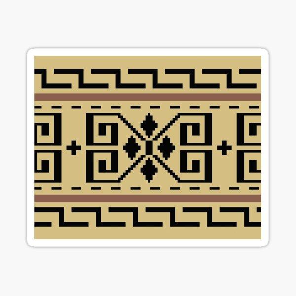 The Big Lebowski - Dude Sweater Pattern Sticker