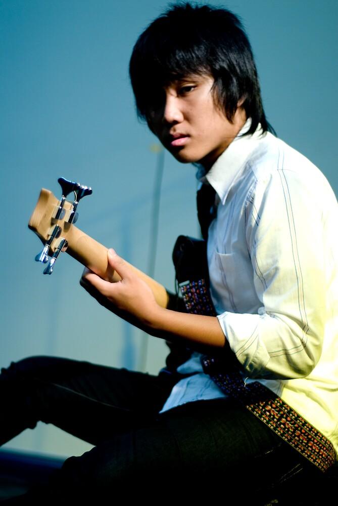 Bass Player by CarloDC
