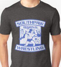Southpaw Regional Wrestling Blue Unisex T-Shirt