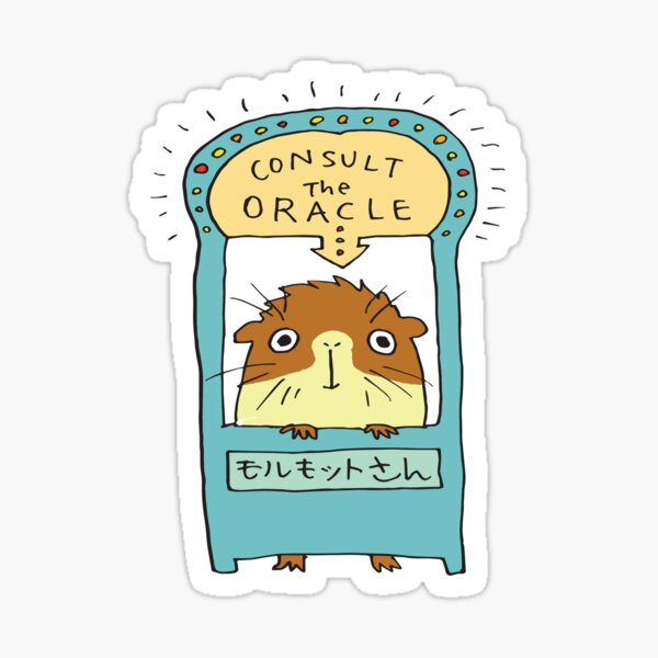 The Oracle Sticker