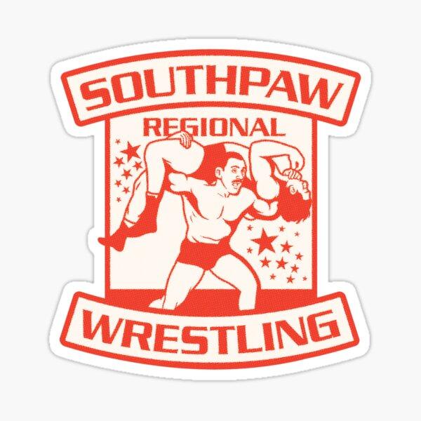 Lucha regional de Southpaw Pegatina