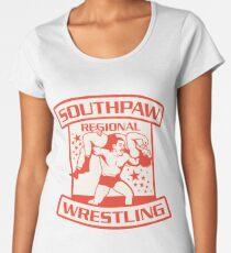 Southpaw Regional Wrestling Women's Premium T-Shirt
