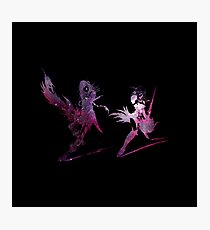 Final Fantasy XIII-2 logo universe Photographic Print
