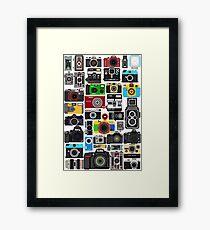 Pixelated Camerass Framed Print