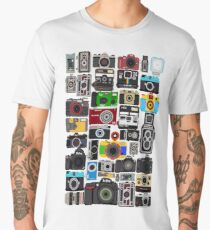 Pixelated Camerass Men's Premium T-Shirt