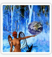 Surreal World Sticker
