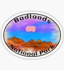 BADLANDS NATIONAL PARK SOUTH DAKOTA MOUNTAINS HIKING CAMPING HIKE CAMP BOATING FISHING 6 Sticker