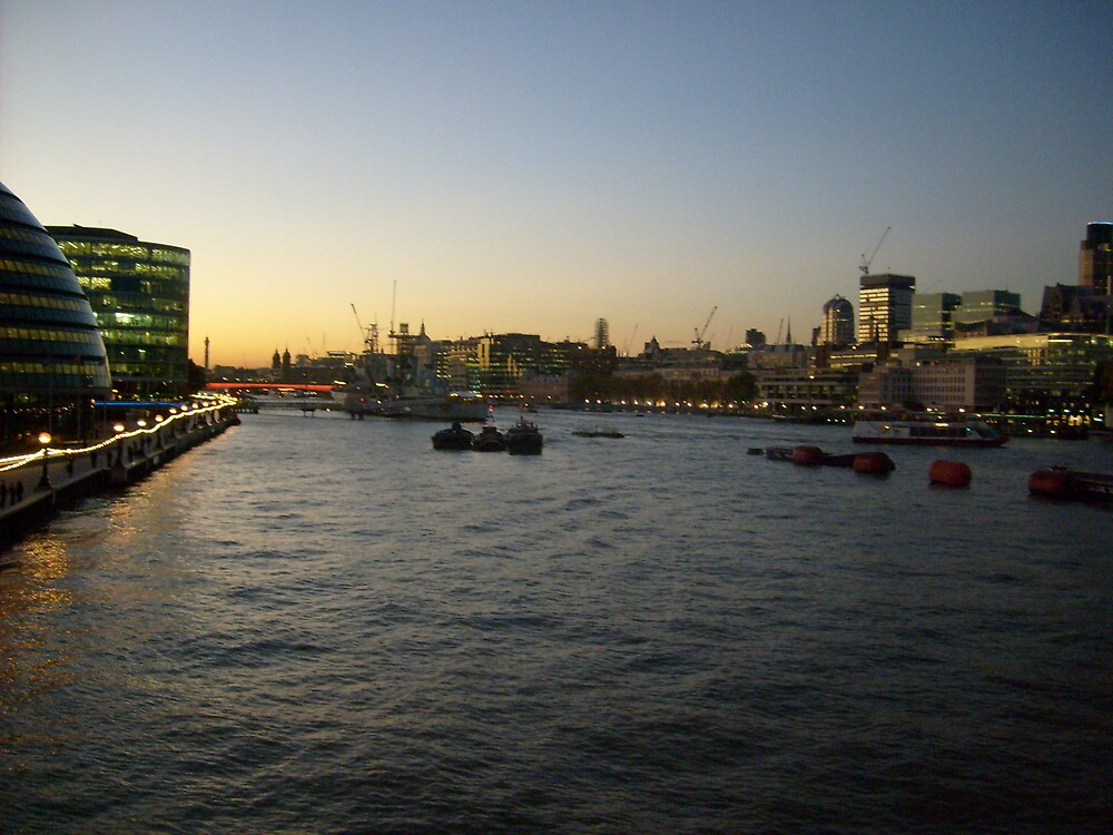 The River Thames by Jamie Smith