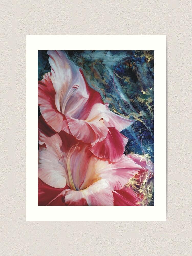 Alternate view of Gladiola Art Print