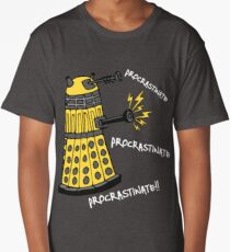 Procrastinate! Long T-Shirt