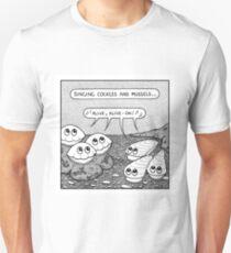 Singing shellfish... Unisex T-Shirt