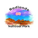 BADLANDS NATIONAL PARK SOUTH DAKOTA MOUNTAINS HIKING CAMPING HIKE CAMP BOATING FISHING 7 by MyHandmadeSigns