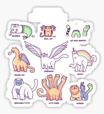 Meothical beasts  Sticker