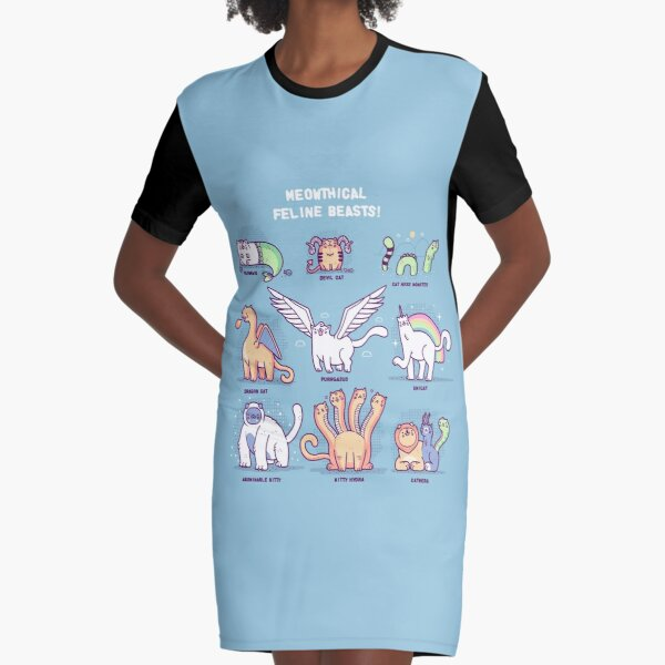 Meothical beasts  Graphic T-Shirt Dress