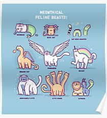 Meothical beasts  Poster
