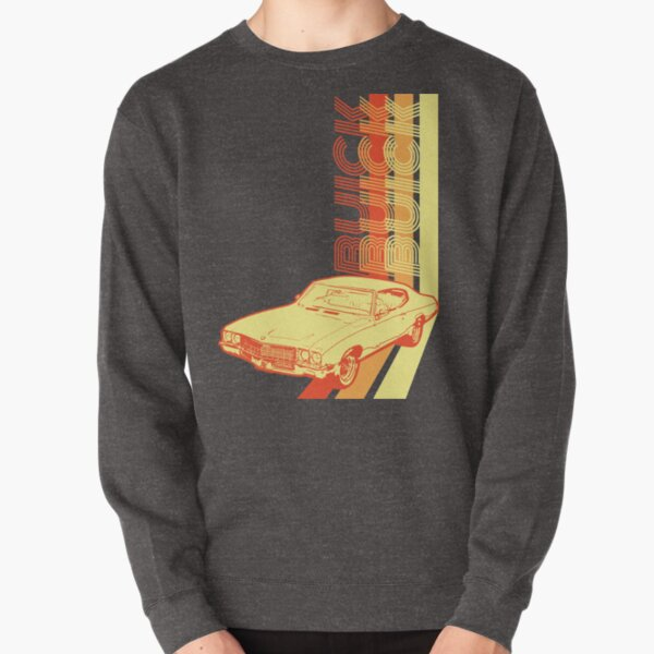Retro Buick Skylark Pullover Sweatshirt