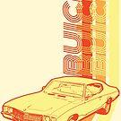 Retro Buick Skylark by tanyarose