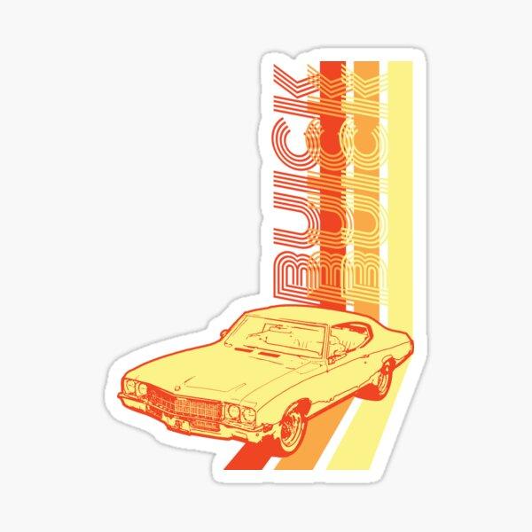 Retro Buick Skylark Sticker