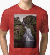 Assaranca Waterfall, Ardara Tri-blend T-Shirt