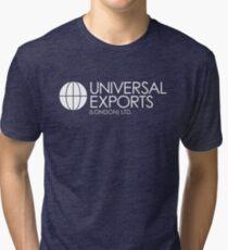James Bond - Universal Exports (London) Ltd Tri-blend T-Shirt
