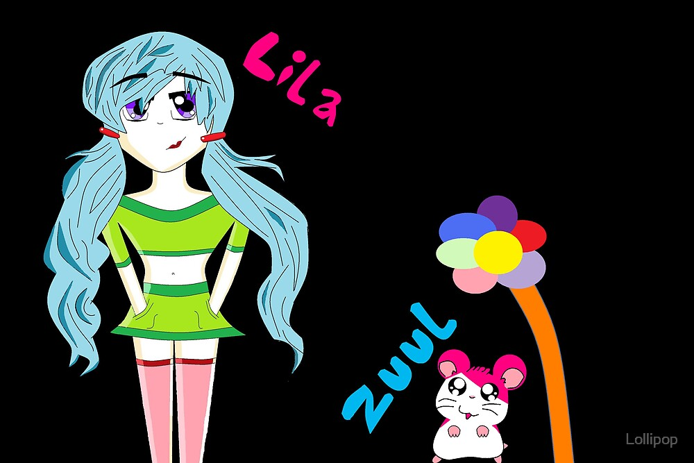 Lila and Zuul by Lollipop