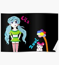 Lila and Zuul Poster
