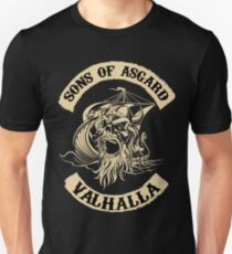 Sons of Asgard - Valhalla T-Shirt