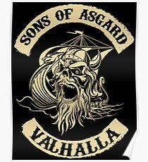 Sons of Asgard - Valhalla Poster