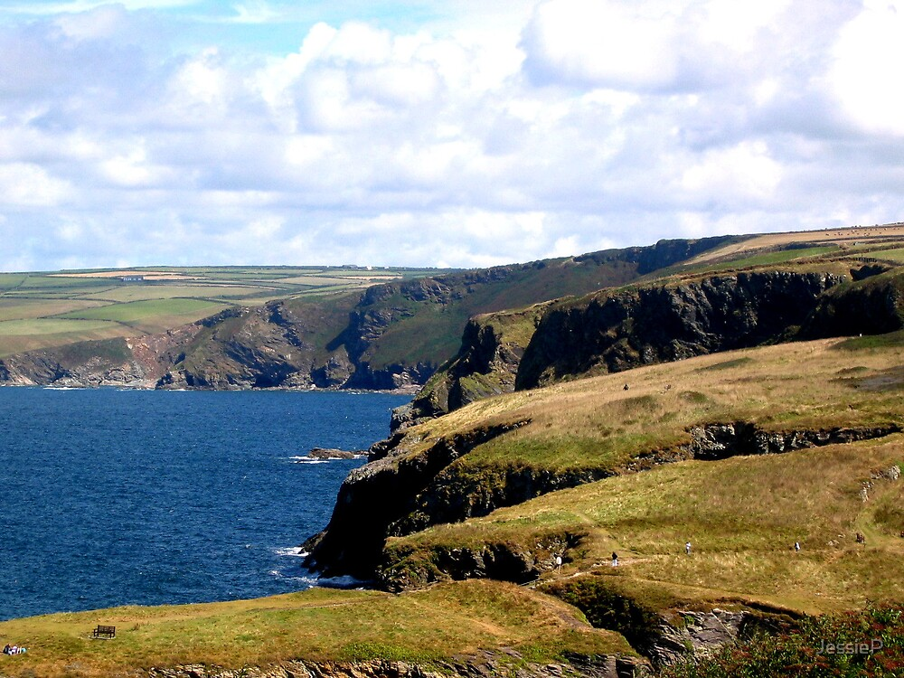 Cornwall Cliffs by JessieP