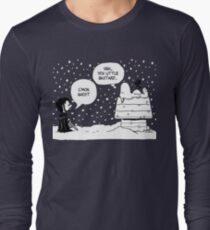 Charlie Snow/Jon Brown and his dog/Direwolf Long Sleeve T-Shirt