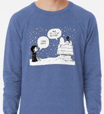 Charlie Snow/Jon Brown and his dog/Direwolf Lightweight Sweatshirt